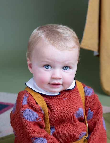 Autumn baby jumper