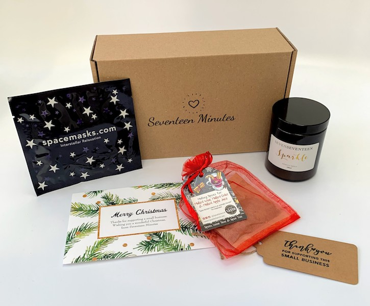 Christmas pamper box