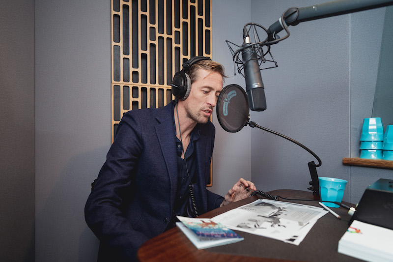 Peter Crouch recording