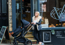 Win an Aston Rose Pushchair Set