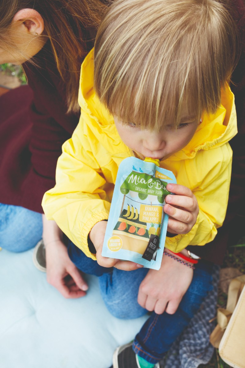 Win a Month's Supply of Organic Baby Food from Mia & Ben