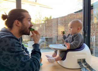 Joe Wicks weaning