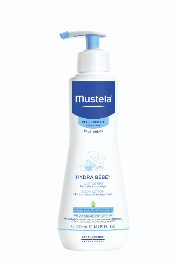 Mustela Body Lotion for baby skin