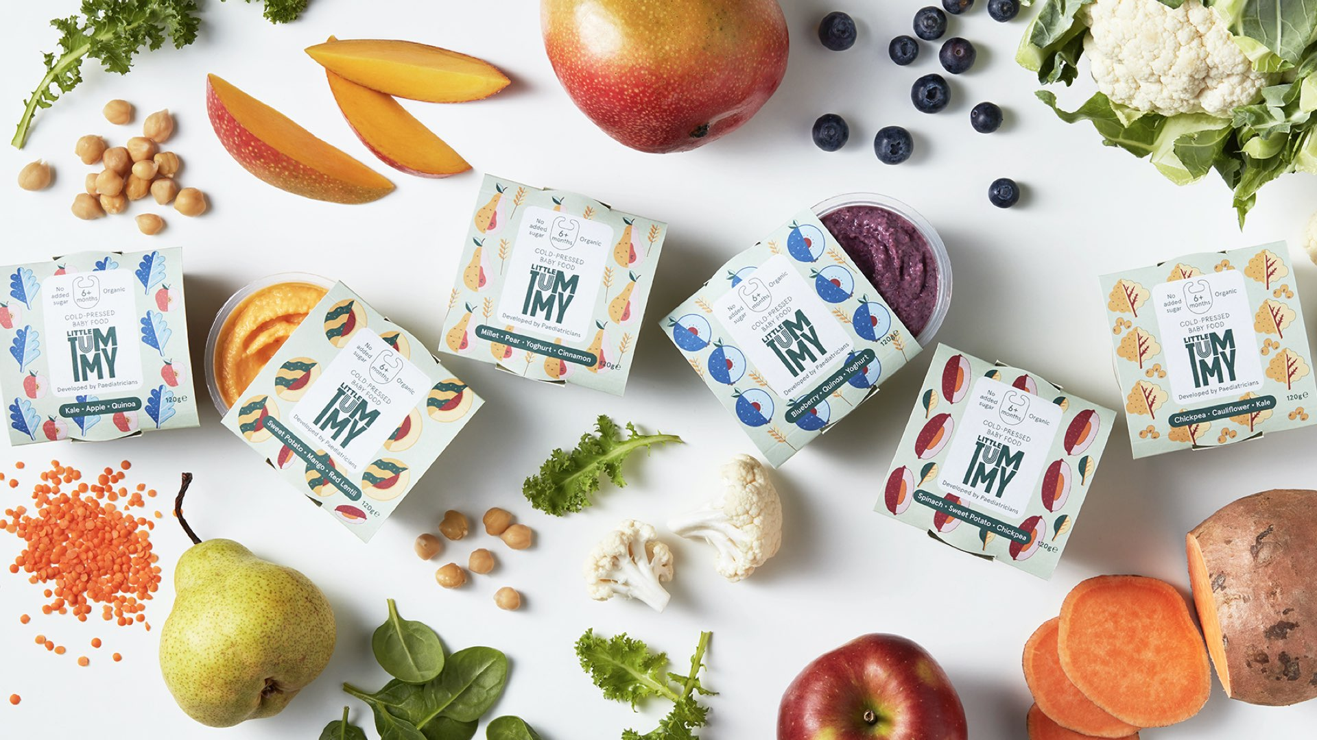 Little Tummy cold-pressed baby foods
