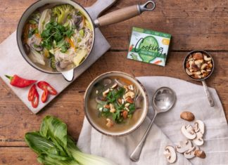 Piccolo Mushroom and Chilli Broth recipe
