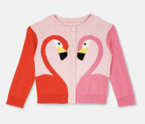 stella-mccartney-flamingo-cardigan-leo-bamford-little-luxuries