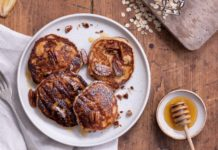 Piccolo Oat and Seed Pancake Recipe