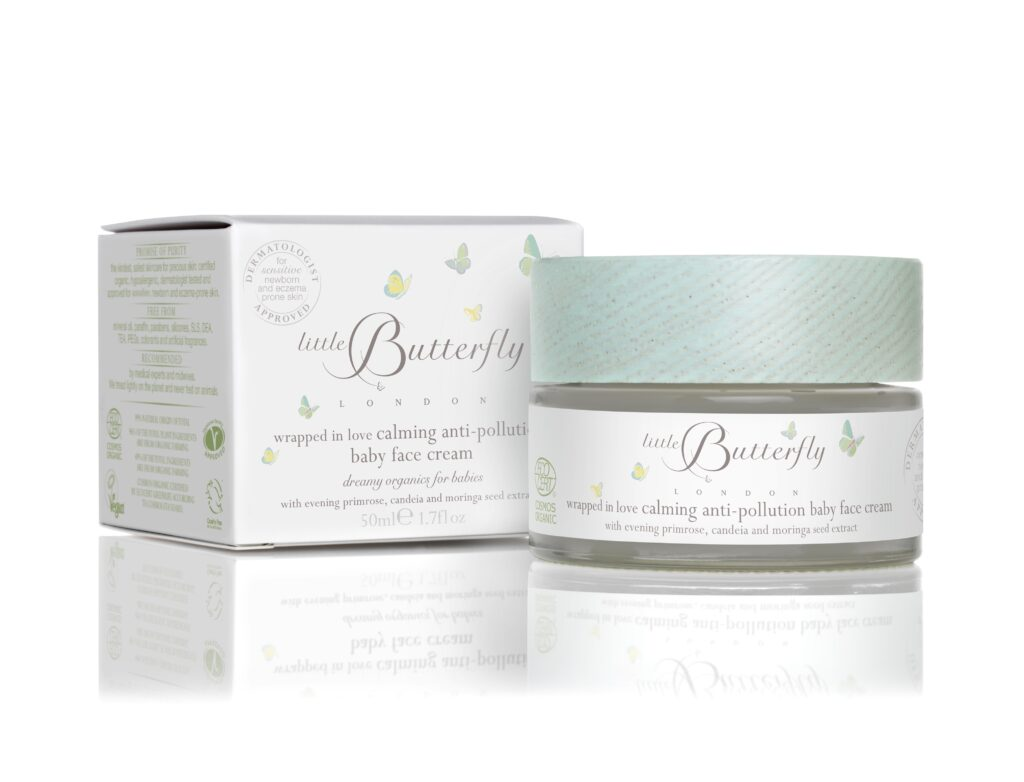 Wrapped In Love calming anti-pollution face cream,
